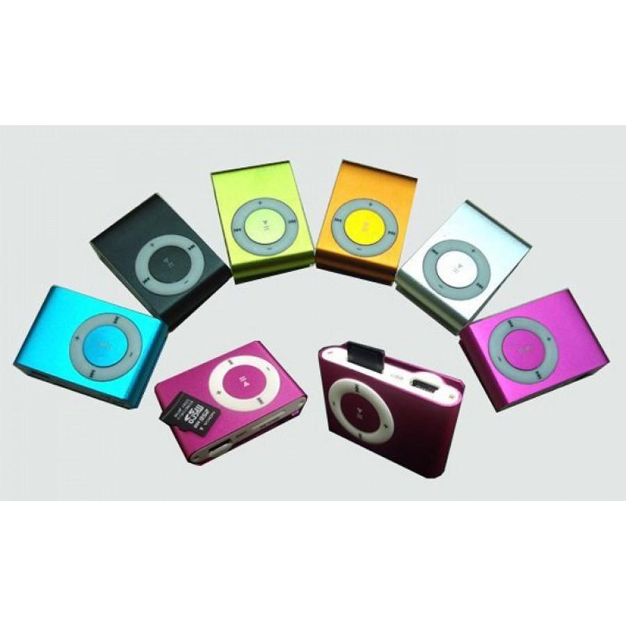 31646738171 Sport Mp3 speler met clip en 2GB voor harlopen Zilver