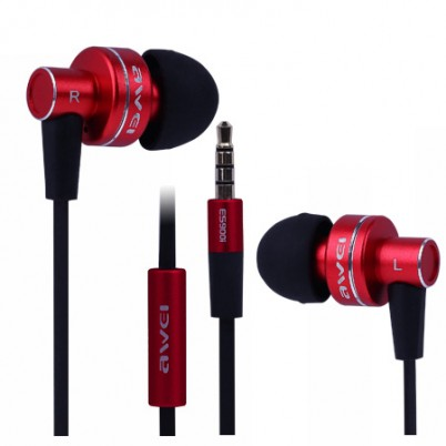 Awei ES900i  In-ear headset rood