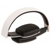 Headset On-Ear Bluetooth Ingebouwde Microfoon Wit