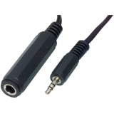 Koptelefoon adapter 0,20m 3.5mm jack - 6.35mm jack