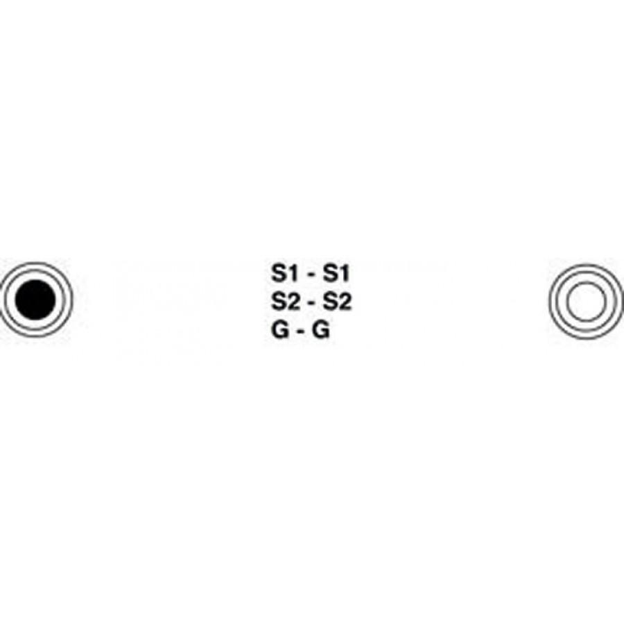 Extreem NU €9,99 Koptelefoon verlengkabel 6.3mm jack plug 5mtr snoer FP15
