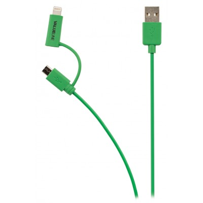 Apple lightning kabel groen