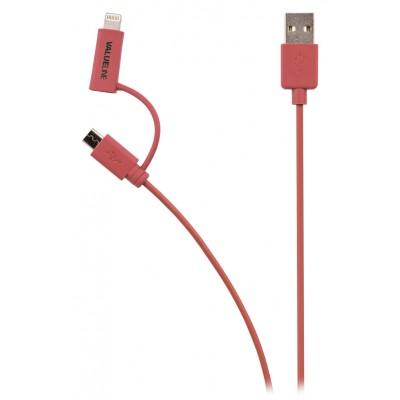 Apple lightning iPhone kabel rood
