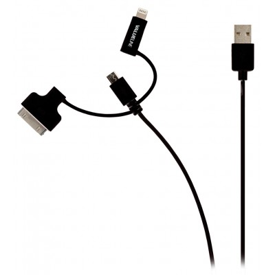 Apple kabel 30pins, usb, lightning Rood
