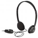 Headset On-Ear 2x 3.5 mm Bedraad Ingebouwde Microfoo