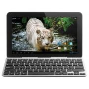 Bluetooth Keyboard Draagbaar US International Zilver/Zwart