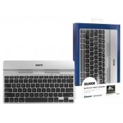 Bluetooth Keyboard Draagbaar Spansk Zilver/Zwart