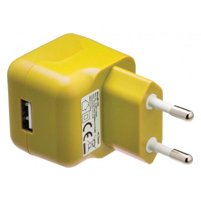 Lader 1 - Uitgang 2.1 A USB Geel