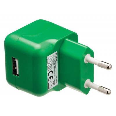Lader 1 - Uitgang 2.1 A USB Groen