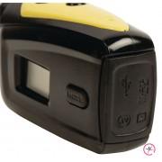 HD Action Cam Waterdichte Behuizing Geel/Zwart