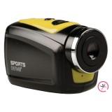 HD Action Camera Waterdichte Behuizing Geel / Zwart