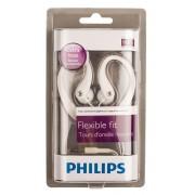 SHS3201 hoofdtelefoon met oorhaak wit