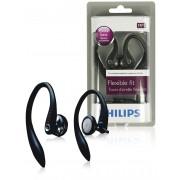 Philips oordopjes met oorhaak zwart