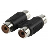Stereo-Audio-Adapter 2x RCA Female - 2x RCA Female Z