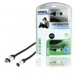 High Speed HDMI kabel met Ethernet HDMI-Connector - HDMI Micro-Connector Male 2.50 m Zwart  bestellen zonder verzendkosten König