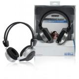 Headset On-Ear USB Bedraad Ingebouwde Microfoon Zwar