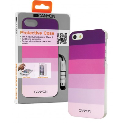 Smartphone Hard-case Apple iPhone 5s / Apple iPhone 5 Roze/Paars