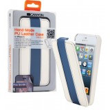 Tablet Flip-case Apple iPhone 5s Wit/Blauw
