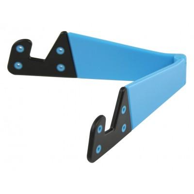 Universele tabletstandaard opvouwbaar blauw