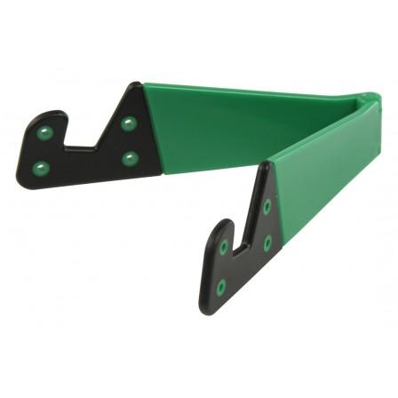 Universele tabletstandaard opvouwbaar groen