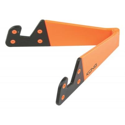 Universele tabletstandaard opvouwbaar oranje