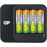 AA/AAA NiMH Batterij Lader 4x AA/HR6 2600 mAh  bestellen zonder verzendkosten GP