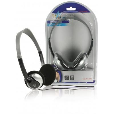 Hoofdtelefoon On-Ear 3.5 mm 6 m Zilver