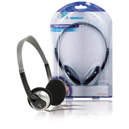 Hoofdtelefoon On-Ear 3.5 mm Zilver