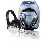 Hoofdtelefoon Over-Ear 3.5 mm Zilver/Zwart