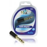Audio adapter 6.35mm mannelijk - 3.5mm vrouwelijk stereo  bestellen zonder verzendkosten HQ