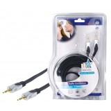 Stereo Audiokabel 3.5 mm Male - 3.5 mm Male 10.0 m D