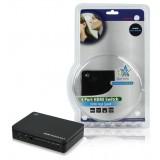 4-Poorts HDMI Schakelaar Zwart  bestellen zonder verzendkosten HQ