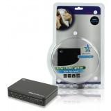 4-Poorts HDMI-Splitter Zwart  bestellen zonder verzendkosten HQ