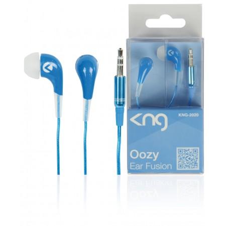 KNG 2020 Oozy Fusion in ear oordopjes Blauw