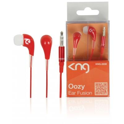 KNG 2030 Oozy in ear oordopjes Rood