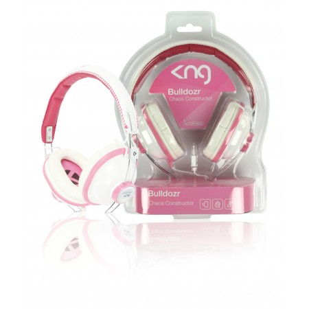 Hoofdtelefoon On-Ear 3.5 mm Roze