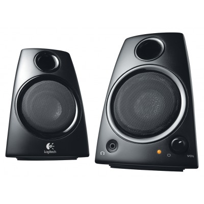 Speaker 2.0 Bedraad 3.5 mm 5 W Zwart