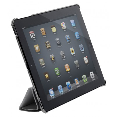 Tablet Folio-case iPad 4 Leder Zwart