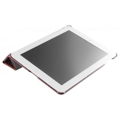 Tablethoes van leer voor iPad 2/3/4 bruin