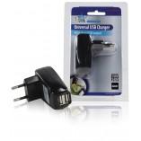 Lader 2 - Uitgangen 1.0 A USB Zwart online winkel