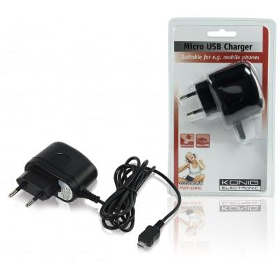 Lader 1.0 A Micro-USB Zwart