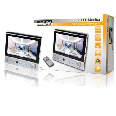 """7"""" kleuren LCD monitor"""