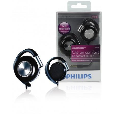 SHS4700 hoofdtelefoon met oorclip zwart