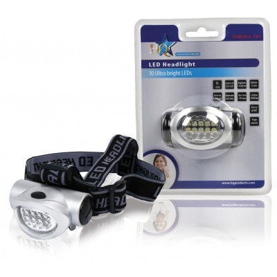Ultra helder led hoofdlampje (wit licht LED's)