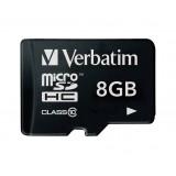 microSDHC Geheugenkaart Klasse 10 8 GB