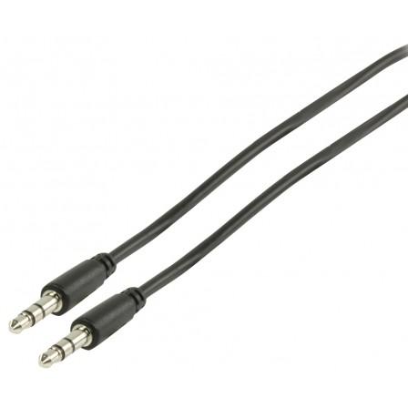Stereo Audiokabel 3.5 mm Male - 3.5 mm Male 3.00 m Zwart