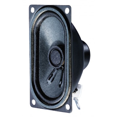 Afgeschermde ovale breedbandluidspreker 4 Ohm