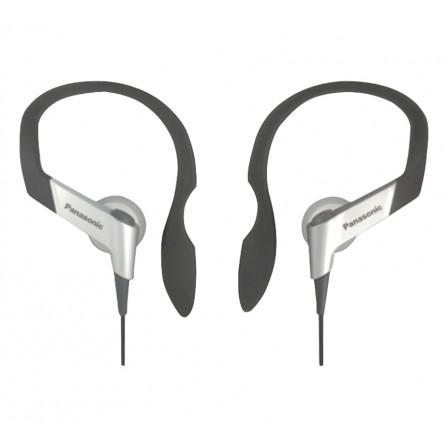 RP-HS-33E Panasonic oordopjes voor sport met oorhaak Zilver